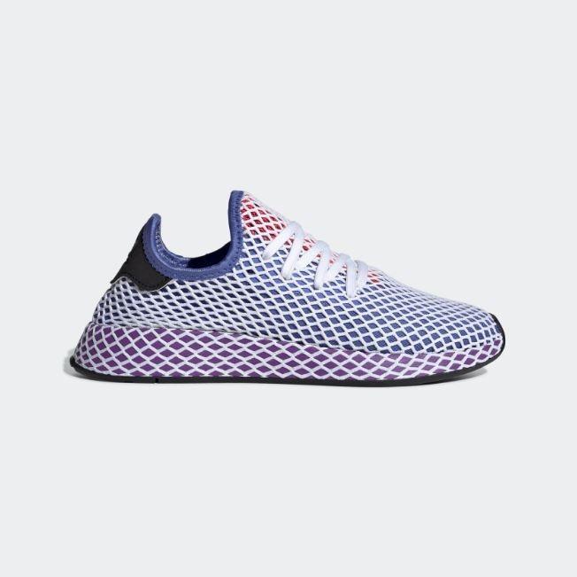 sports shoes 14152 30102 tenis adidas deerupt runner lila morado mujer originales