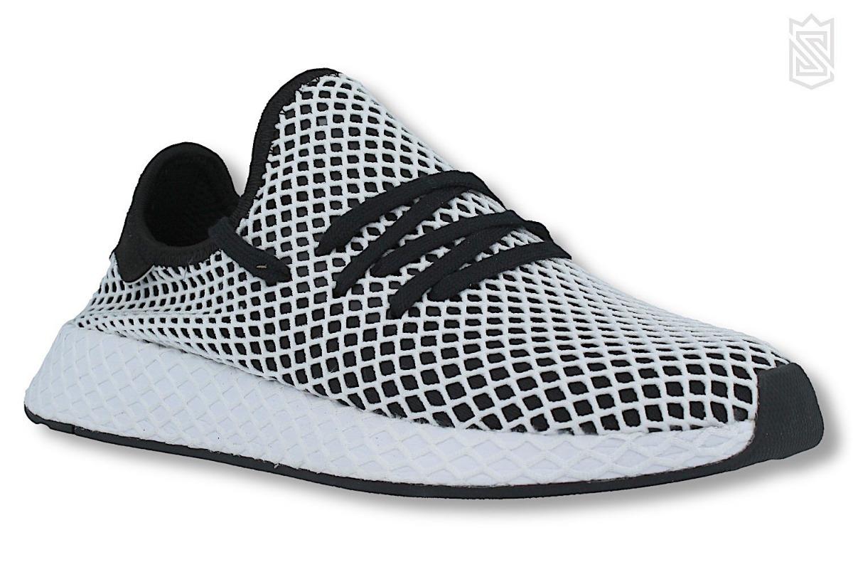 9219143eb5c Tenis adidas Deerupt Runner Negros Con Blanco