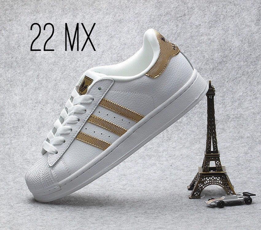 zapatos adidas doradas