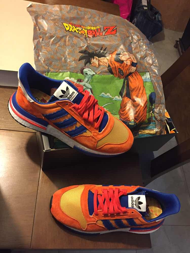 newest 8895d d8357 Tenis adidas Dragón Ball Z Goku Zx 500 Originales