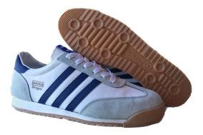 Tennis adidas Dragon Zapatillas Blanco Raya Azulrojo