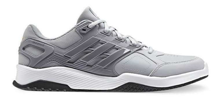 7785cae1437 Tenis adidas Duramo Trainer Color Gris Claro Hombre Original ...