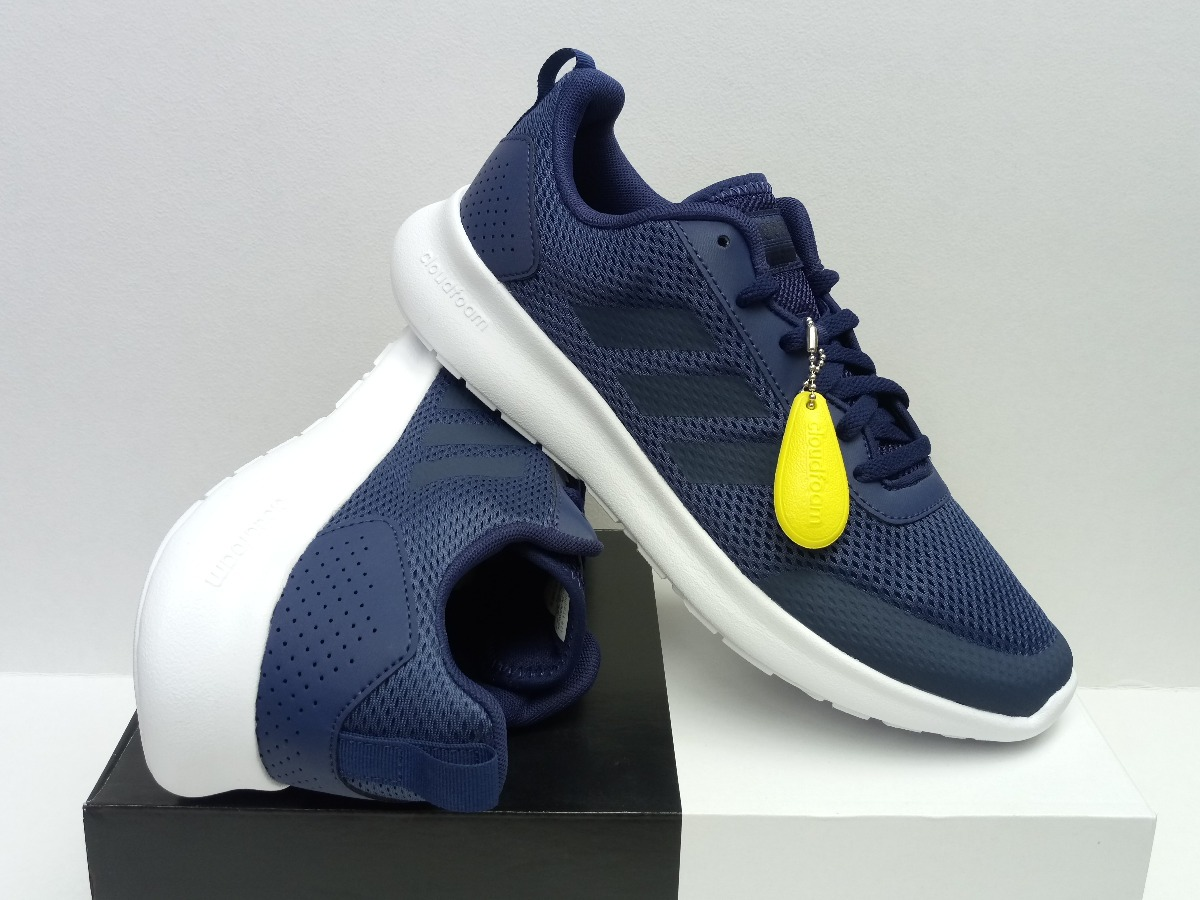 hot sales 78d40 5ee11 Tenis adidas Element Race Azul Marino 100% Originales