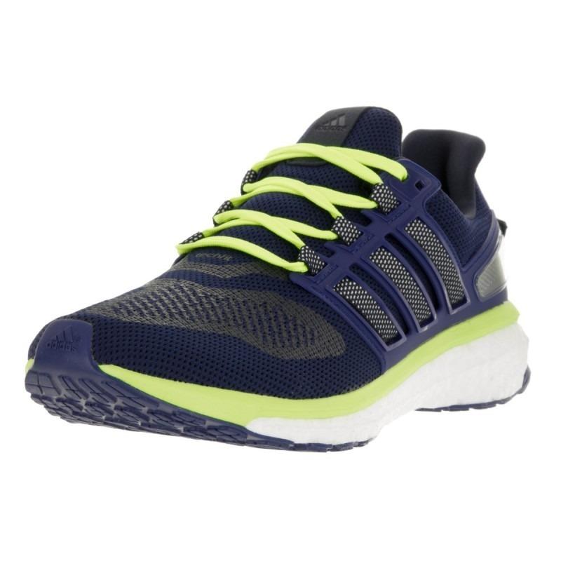 Nueva llegada Adidas Energy Boost 3 Zapatillas Hombre Azul