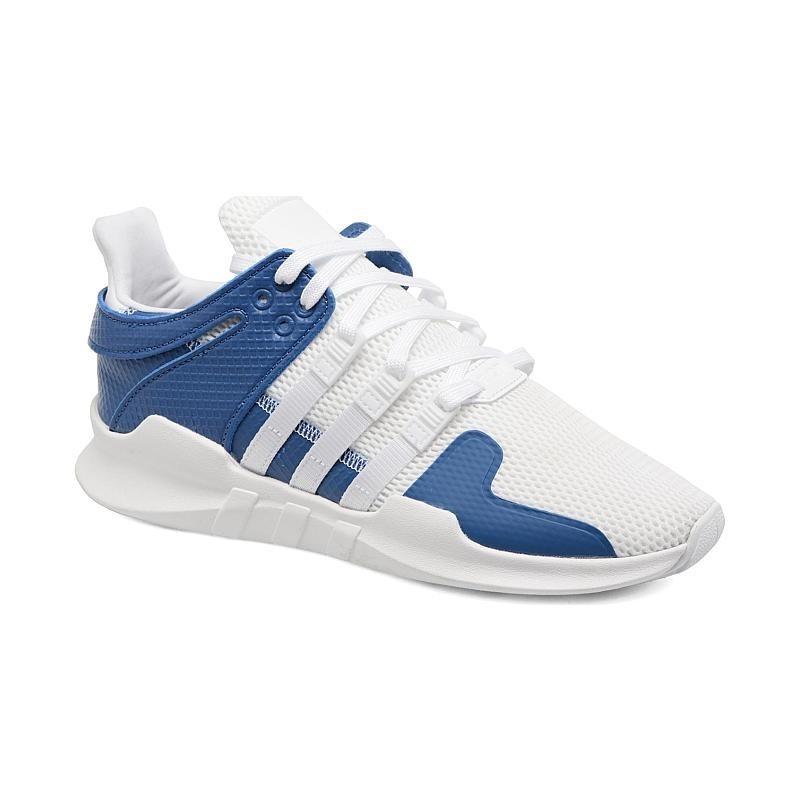 834bea3270 tenis adidas eqt support adv primeknit blanco-azul dama. Cargando zoom.