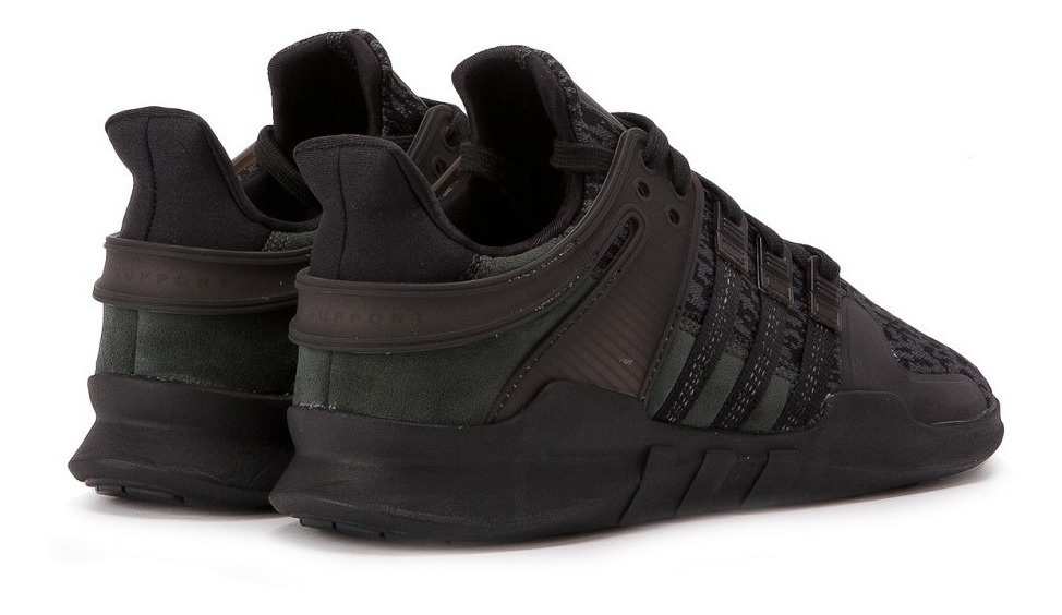 new concept 85a42 f10cf Tenis adidas Eqt Support Adv Triple Black Originales Nmd
