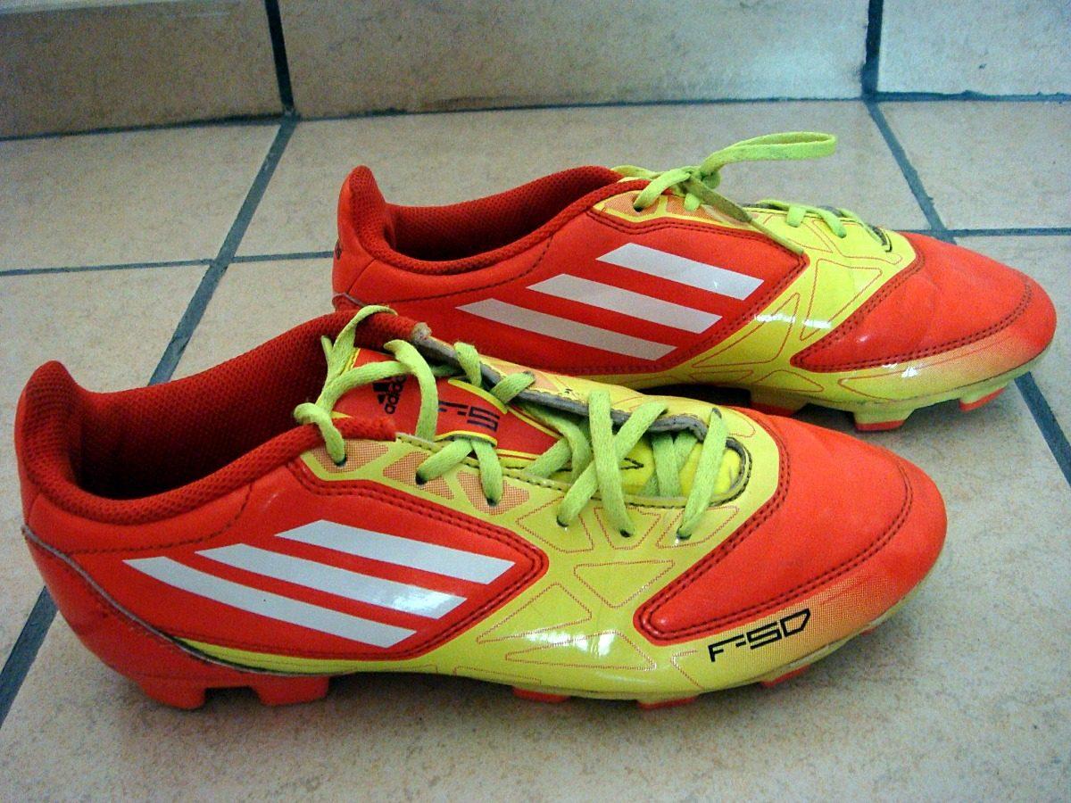 6b9dc7ca22d9c Tenis adidas F50 Fútbol Soccer. Suela De Tachones. -   350.00 en ...