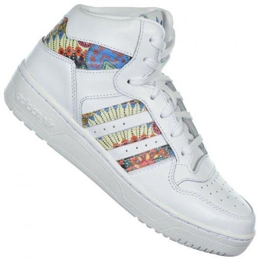 94c3e835cf4 Tenis adidas Farm By9754 Attitude Revive Branco florido - R  349