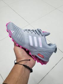 comprar online 6fc90 4ff93 Tenis adidas Fashion Air Max Para Mujer Rosado Azul Gris Neg