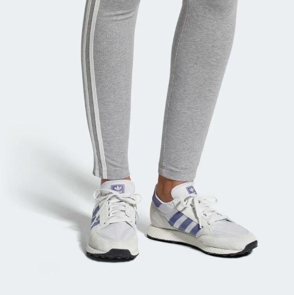 Tenis adidas Forest Grove Gris Menta Mujer Nuevos Originales