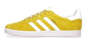 zapatos adidas amarillos