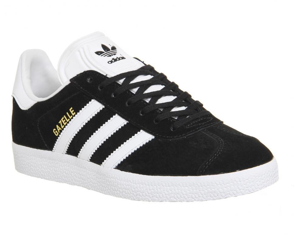 c2dba3ab6b4 Tenis adidas Gazelle Negras Con Blanco Hombre