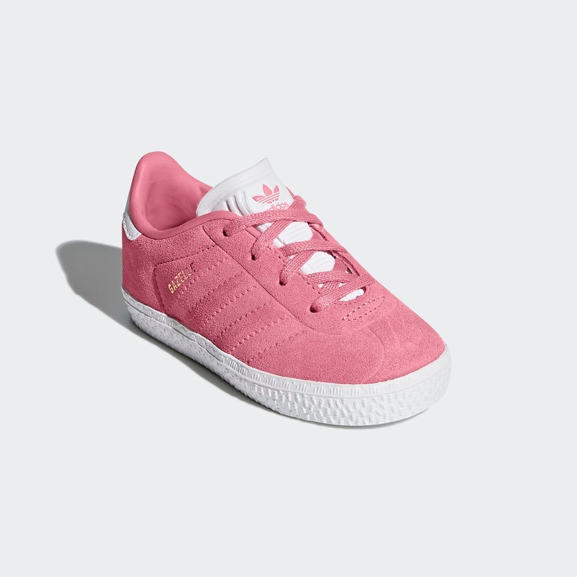 2e3d31bb3b6 tenis adidas gazelle niña rosa 2018. Cargando zoom.