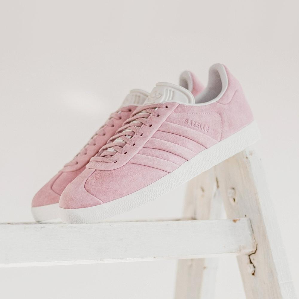 Tenis adidas Gazelle Stitch W - Bb6708 - Rosa - Mujer