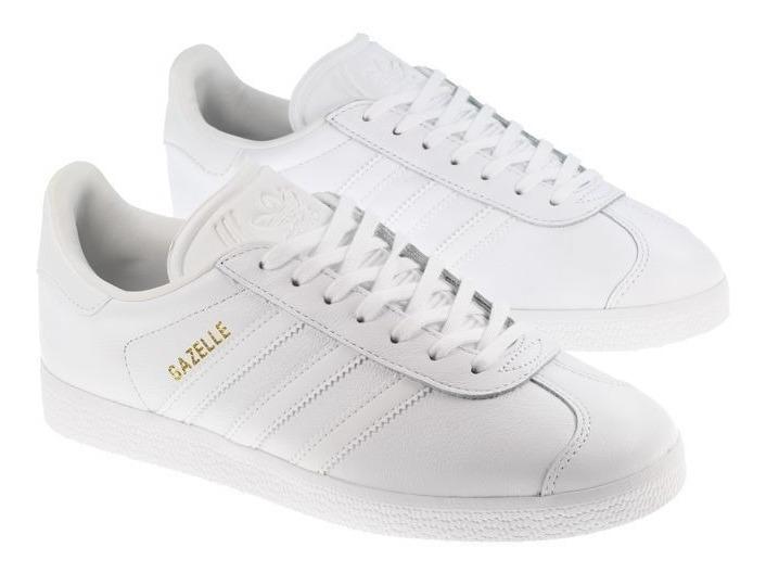 Tenis adidas Gazelle W Gold White Branco Original