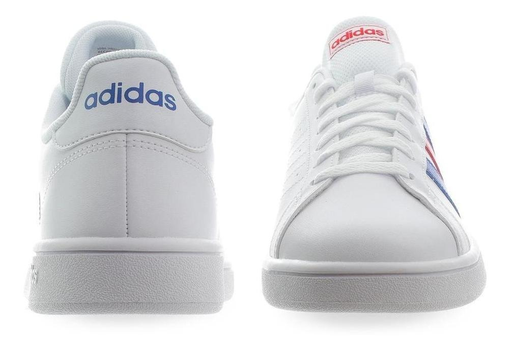 Court Tenis Hombre Ee7901 Blanco Adidas Base Grand tsQChrxd