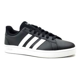 Tenis adidas Grand Court K Negro/blanco Ef0102