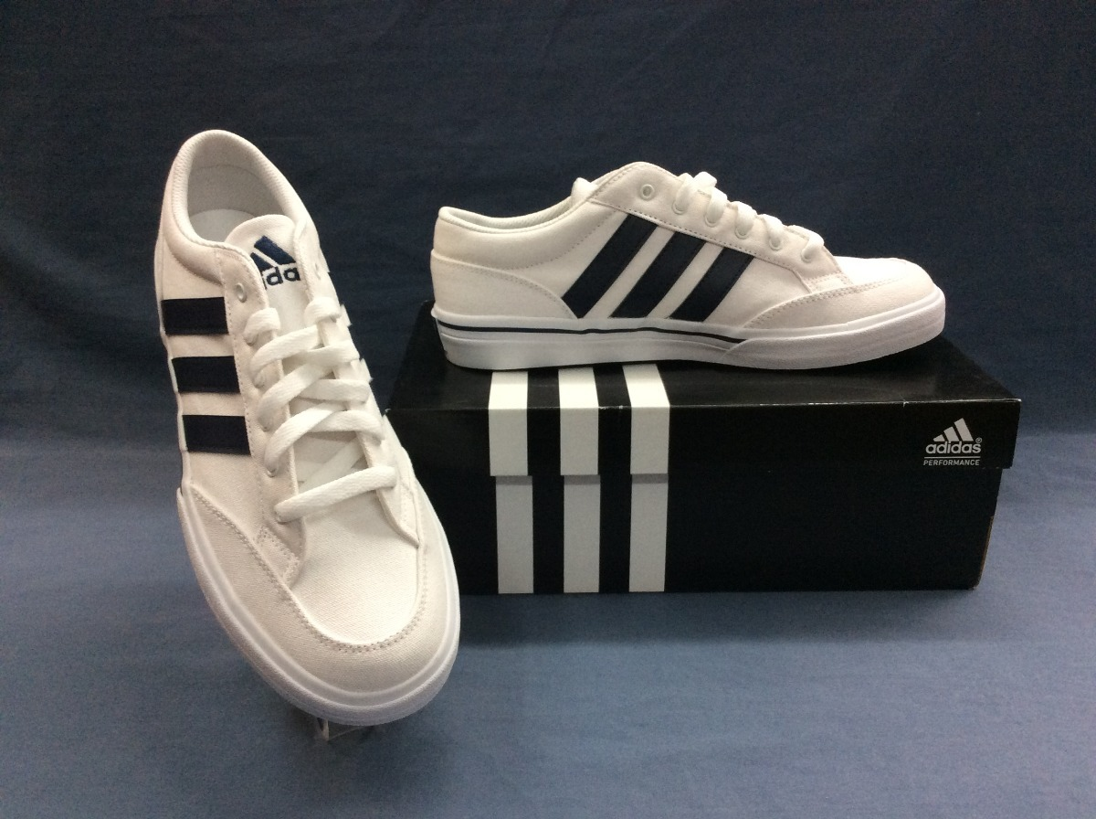 4510beb7c1684 Tenis adidas Gvp Canvas Str Color Blanco -   999.00 en Mercado Libre