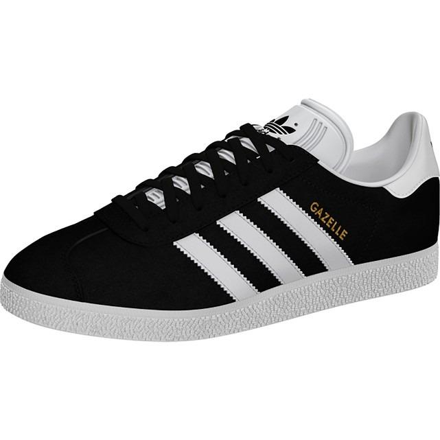 sports shoes e6fe6 04e16 tenis zapatillas adidas gazelle negra blanco hombre 2018 · tenis adidas  hombre
