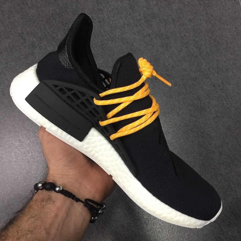 Tenis Zapatillas adidas Nmd Pharrell Williams Negra Hombre E