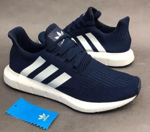Swift Tenis Adidas Run 2018149 900 Zapatillas Azul Hombre UzSMVp