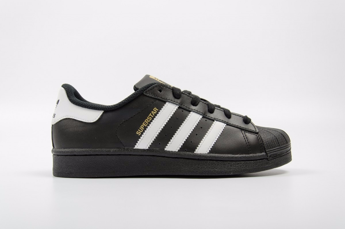 adidas superstar zapatillas negras