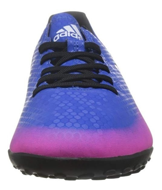 zapatos de futbol adidas morados hombres