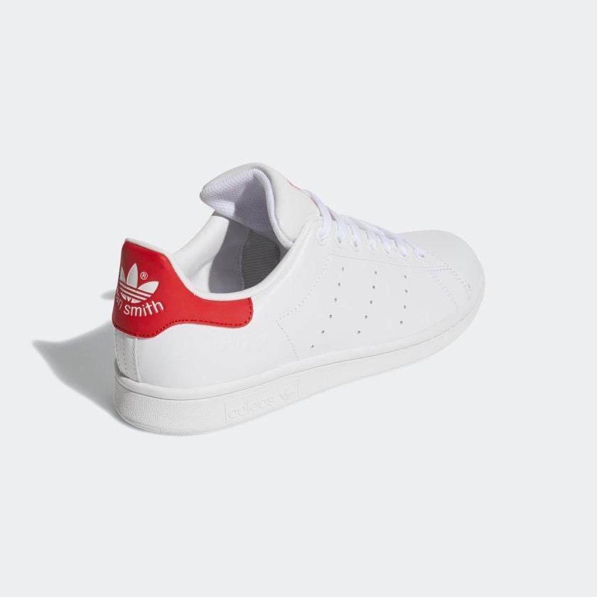 7b33042d922 Adidas Smith M20326 00 Tenis Stan 349 Rojo Piel 1 Hombre Blancos gwdxq16