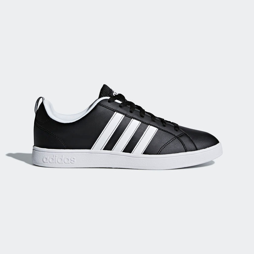 official photos 24111 31d88 tenis adidas hombre clasico advantage casuales negro blanco. Cargando zoom.