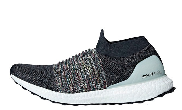 Tenis adidas Hombre Gris Oscuro Ultra Boost Laceless Cm8267