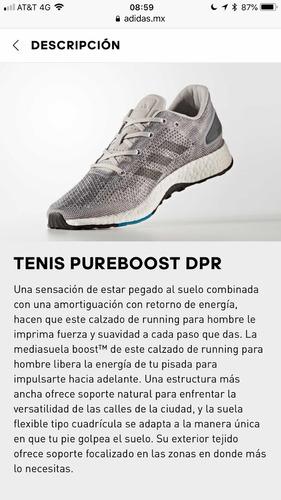 tenis adidas hombre running