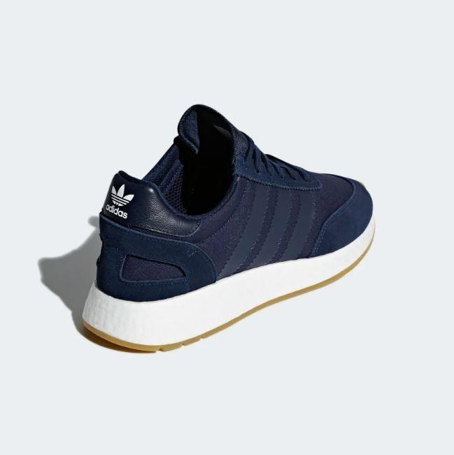 Tenis adidas I-5923 Azul Marino Hombre Nuevos Originales