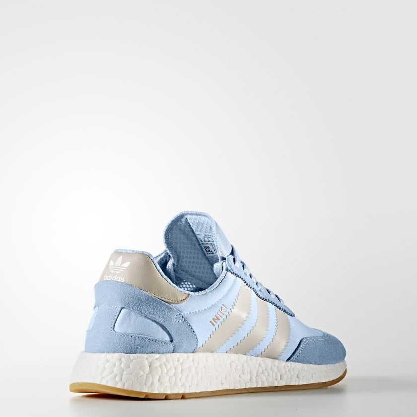 zapatillas adidas iniki azules hombre