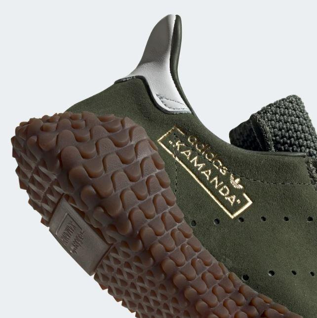 Tenis adidas Kamanda 01 Verde Olivo Hombre Nuevos Originales