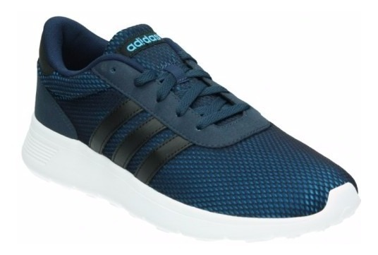 976dfb373c Tenis adidas Lite Racer Azul-negro Caballero - $ 1,550.00 en Mercado ...