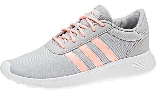 Tenis adidas Lite Racer W B44653 Gris-rosa Dama Pv