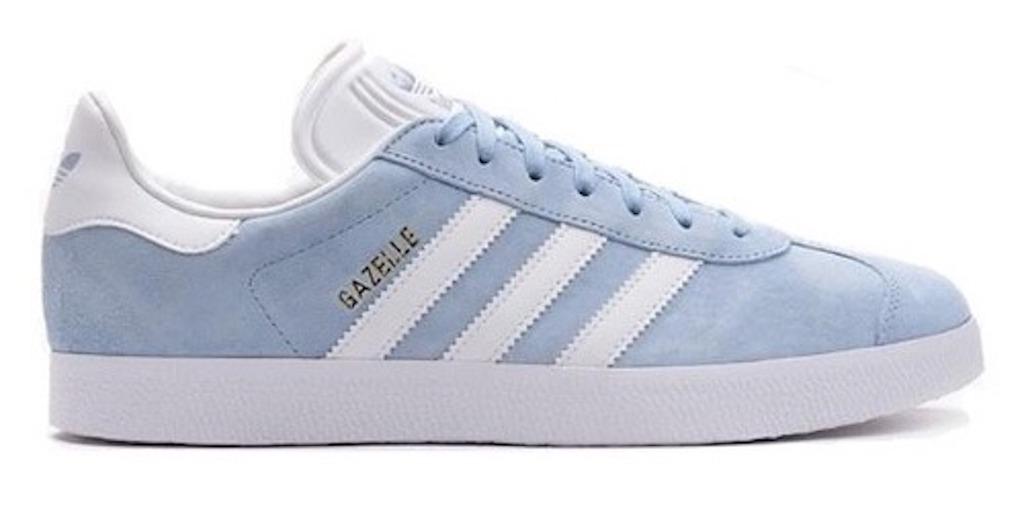 f6da8304f5b Tenis Zapatillas adidas Gazelle Azul Blancas Mujer Env Gra ...