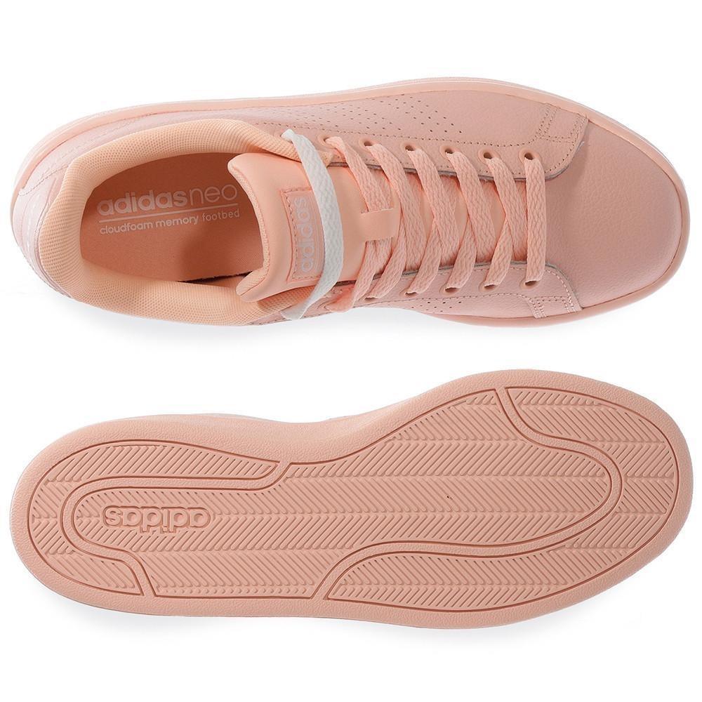 df5ee2d792a26 Cargando zoom... adidas mujer tenis. Cargando zoom... tenis adidas cf  advantage clean - aw3977 - rosa - mujer