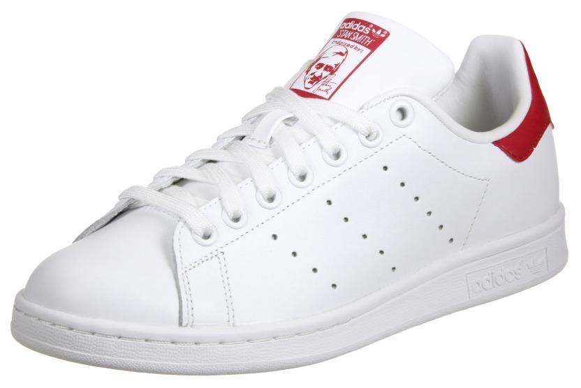 fd85d688912 Tenis Zapatillas adidas Stan Smith - Blanco Rojo Mujer -   149.900 ...