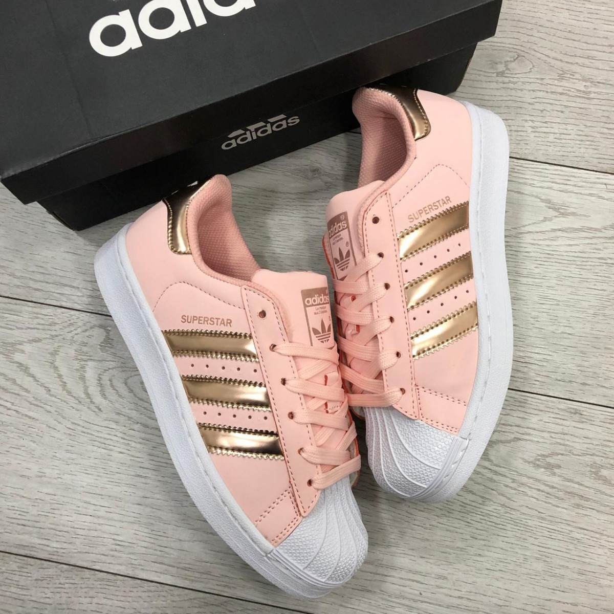 d79c54d5800 Tenis adidas Superstar Pink Mujer -   155.000 en Mercado Libre