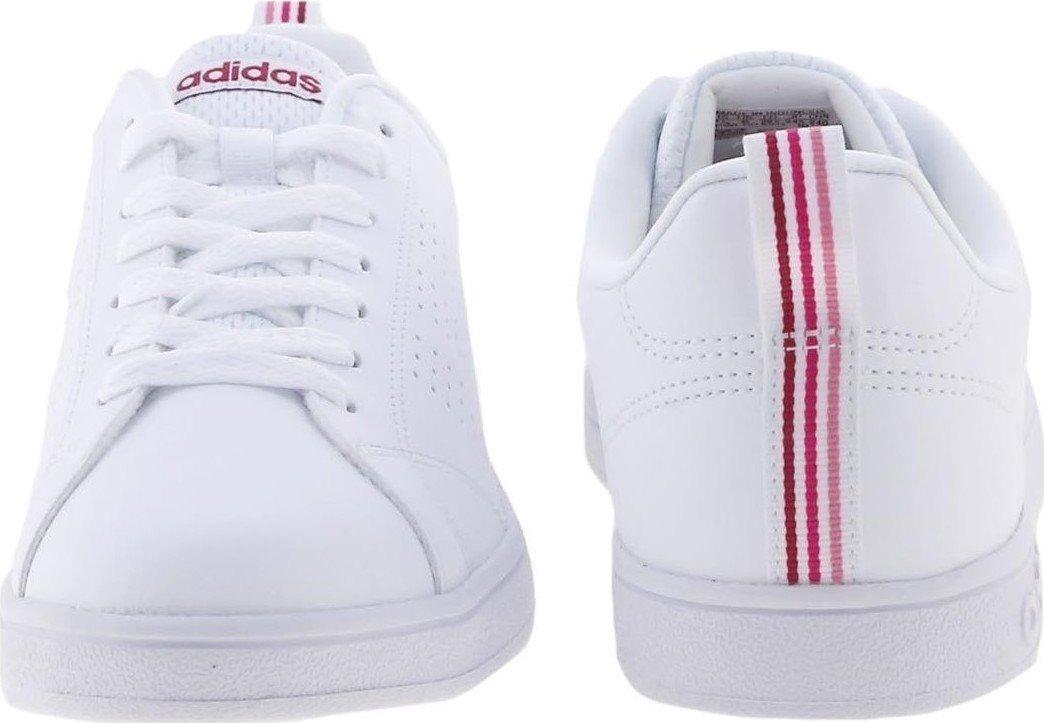 7122752ce4a17 Tenis adidas Advantage Clean Mujer Bco rosa Original B74574 -   999.00 en Mercado  Libre
