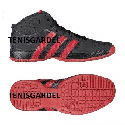 quality design 8f4d2 21550 Imagen de Tenis Adidas DB0438 negro azul rojo