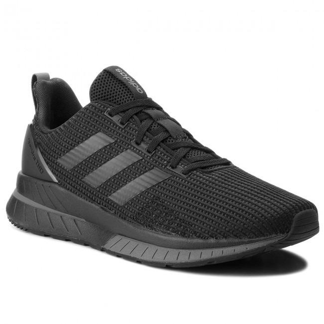 983d4b4d9612f Tenis adidas Negros Run Train Gym Hombre Correr A Meses -   2