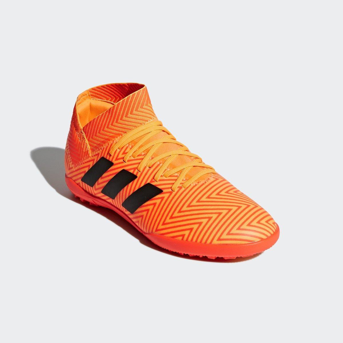Tenis adidas Nemeziz Tango 18.3 Turf Naranja Niño