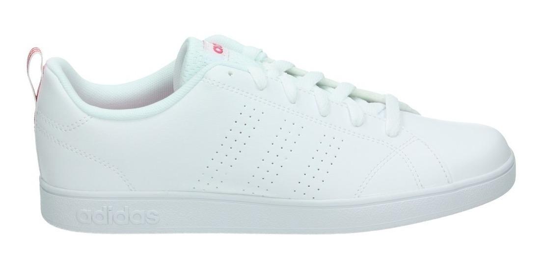 Tenis adidas Neo Advantage Blanco Con Rosa - Bb9976