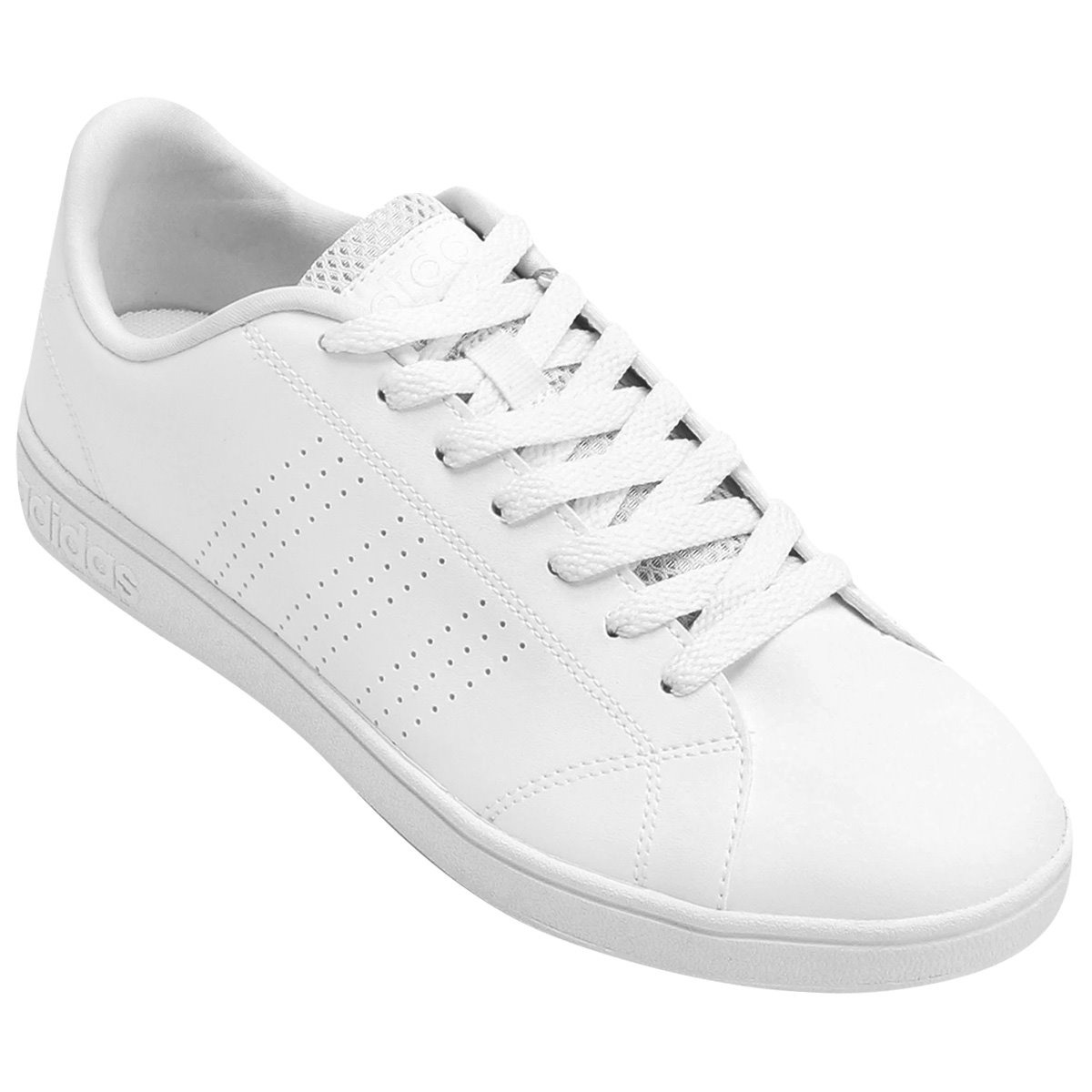 tenis adidas neo advantage clean vs original branco. Carregando zoom. 3f19fc03089c0