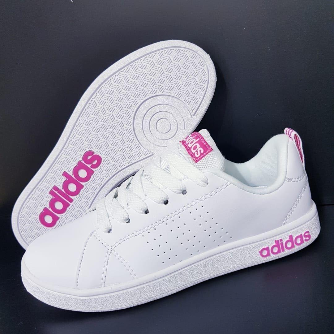 Tenis adidas Neo Advantage Dama Todos Los Colores Zapatillas