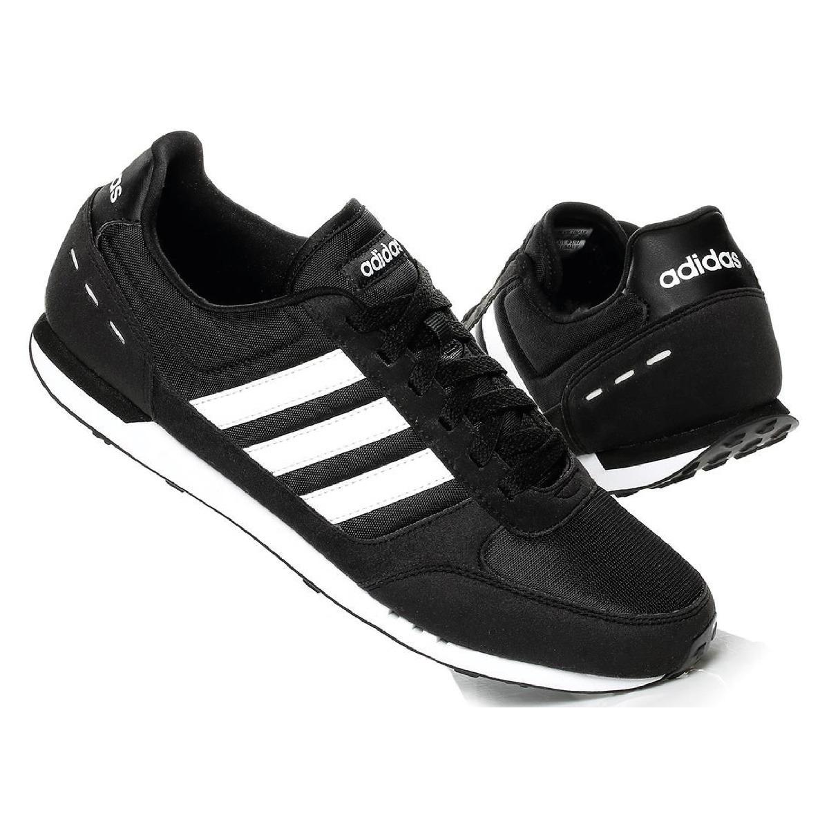 Adidas Tenis Adidas Neo City Racer Textil Negro Textil