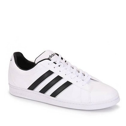b3aef9d27c ... purchase tenis adidas neo derby retrô original classico preto branco  d51ed 95bfe