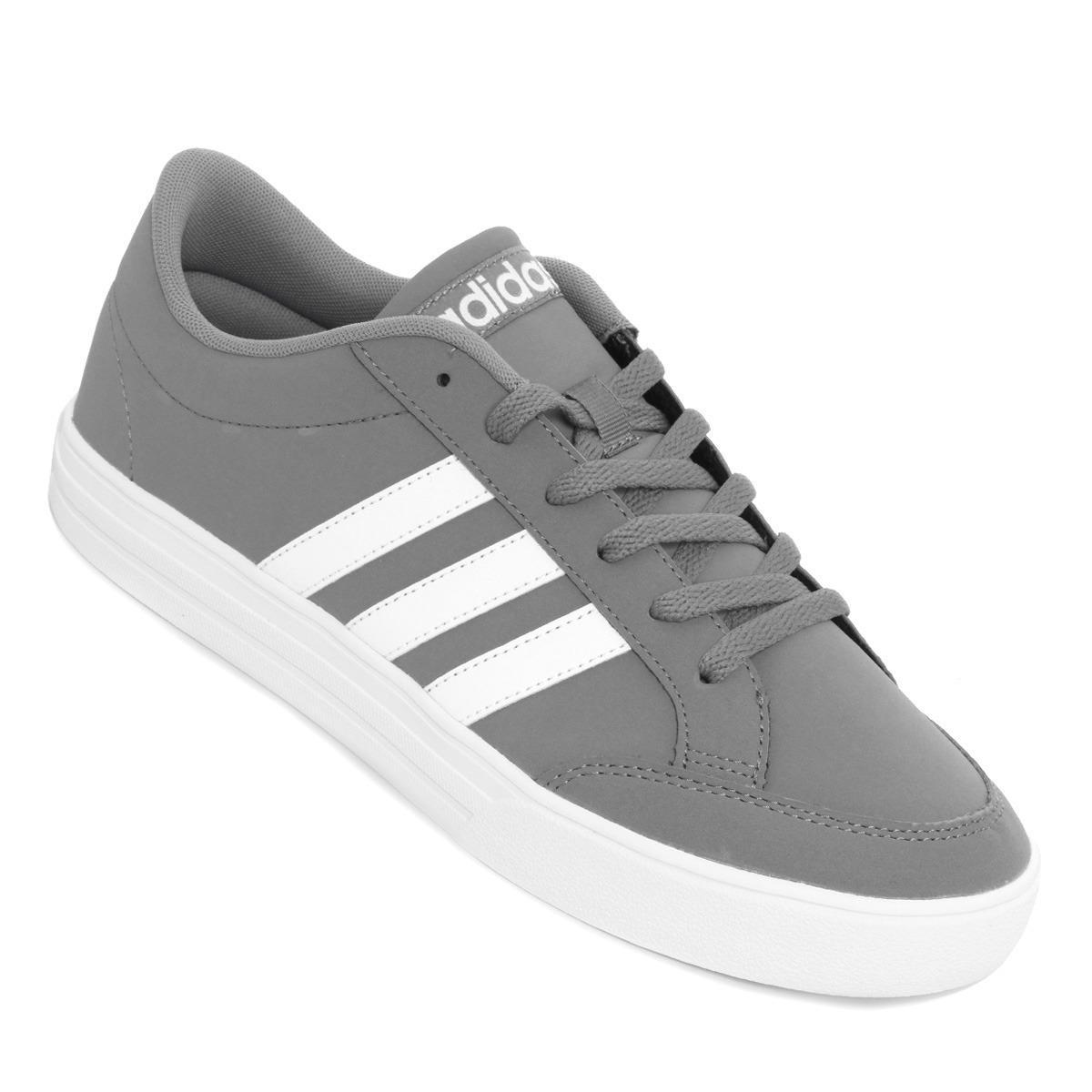 tenis adidas grises